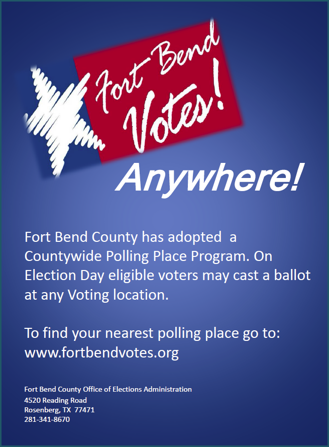 Fort Bend Votes Anywhere 2015